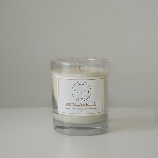Candle - Vanilla + Rose