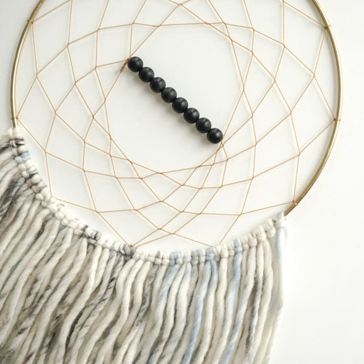 Dreamcatcher by Totem Designs - Sky + Frosted Obsidian