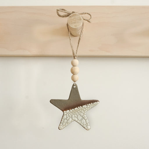 Handmade Ceramic Ornament - Star