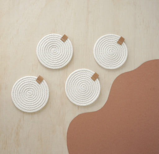 Woven Coasters - Set of 4
