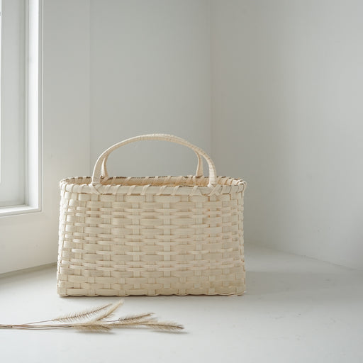 Handmade Basket - Old Reed Woodland Tote
