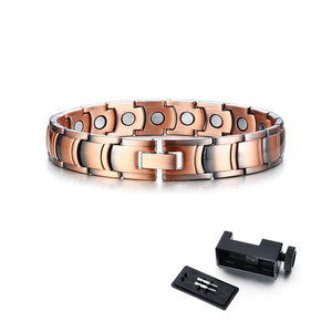 Pure Copper Therapy Link Hologram Bracelet with health benefits