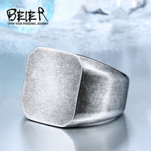 Load image into Gallery viewer, Beier Stainless Steel Geometric Ring