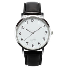 Load image into Gallery viewer, CCQ - Simple Business Vintage Leather Analog Wrist Watches for Men