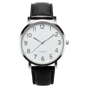 CCQ - Simple Business Vintage Leather Analog Wrist Watches for Men