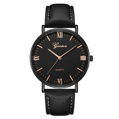 Duobla Geneva - Simple Fashion Leather Analog Watch