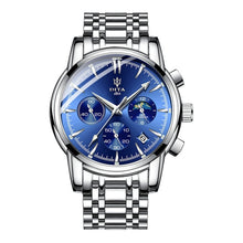 Load image into Gallery viewer, Luxury Stainless Steel Chronograph Wrist Watch for Men