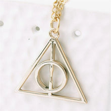 Load image into Gallery viewer, Deathly Hallows Inspired Chain Necklace