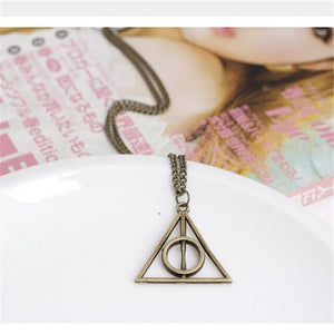 Deathly Hallows Inspired Chain Necklace