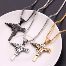 Load image into Gallery viewer, Feimeng Gothic Gun Necklace