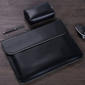 Anki Leather Laptop Sleeve and Bag