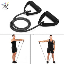 Load image into Gallery viewer, 120cm Yoga Pull Rope Elastic Resistance Rubber Bands for Fitness Training Work out