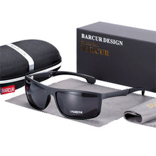 Load image into Gallery viewer, BARCUR Polarized Men Sport Sunglasses UV400