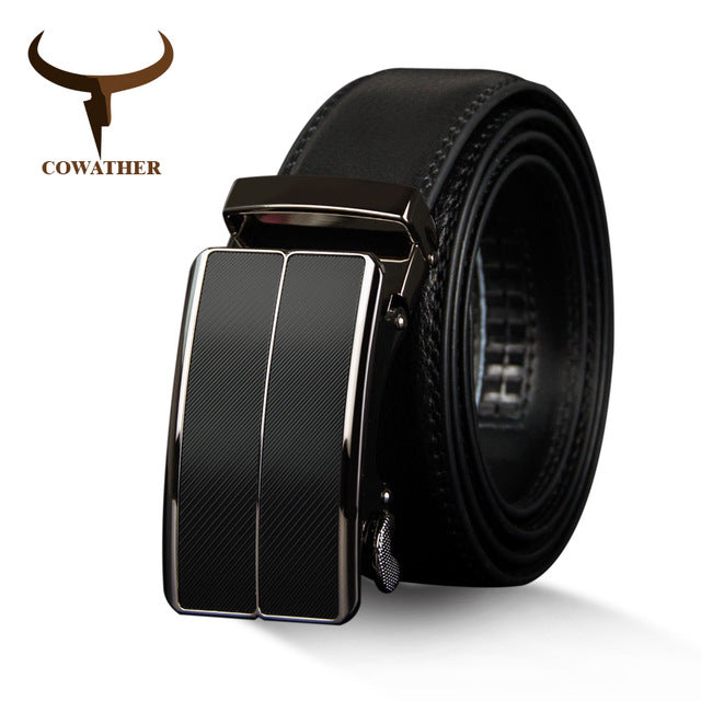 COWATHER Business Classic Genuine Leather Belt