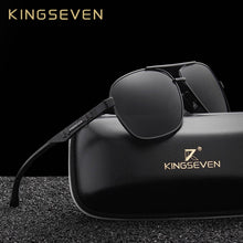 Load image into Gallery viewer, KINGSEVEN Sleek Aluminum Polarized Men's Sunglasses