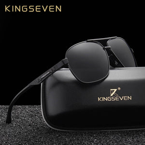 KINGSEVEN Sleek Aluminum Polarized Men's Sunglasses
