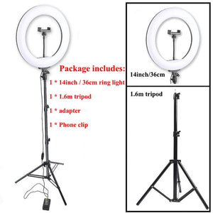 LED Studio Ring Light with stand for Tik Tok