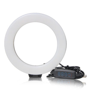6 Inch Mini LED USB Desktop Video Selfie Ring Light