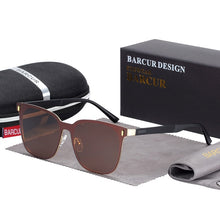 Load image into Gallery viewer, BARCUR Polarized Rimless Men's Sunglasses
