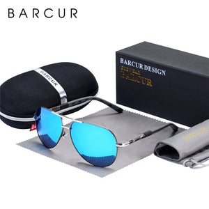 BARCUR Polarized Aviator Men's Sunglasses