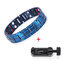 Load image into Gallery viewer, Rainso - Healing FIR Magnetic Titanium Bio Energy Bracelet for Men