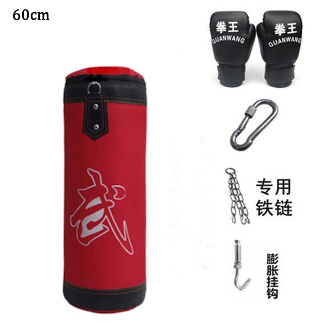 60cm-120cm Training Fitness MMA Boxing Punching Bag Sand Training Fitness