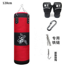 Load image into Gallery viewer, 60cm-120cm Training Fitness MMA Boxing Punching Bag Sand Training Fitness