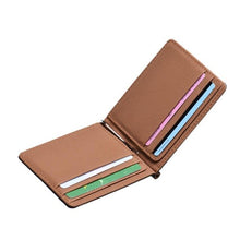Load image into Gallery viewer, PU Leather Modern minimalist business Wallet