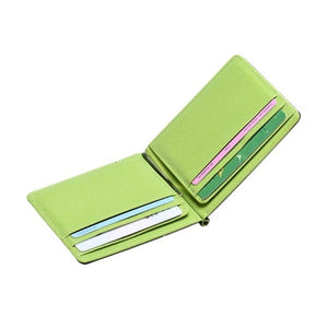 PU Leather Modern minimalist business Wallet