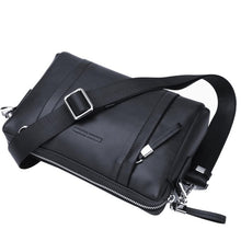 Load image into Gallery viewer, Bison Demin Messenger Bag