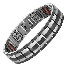 Load image into Gallery viewer, Escalus - IPG Plating Pure Titanium Magnetic Chain & Link Bracelet For Men