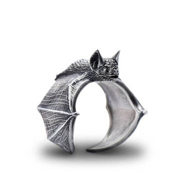 Elfin Edgy Bat Ring