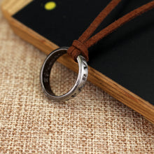 Load image into Gallery viewer, Mysterious Engraved Rongji Ring Necklace