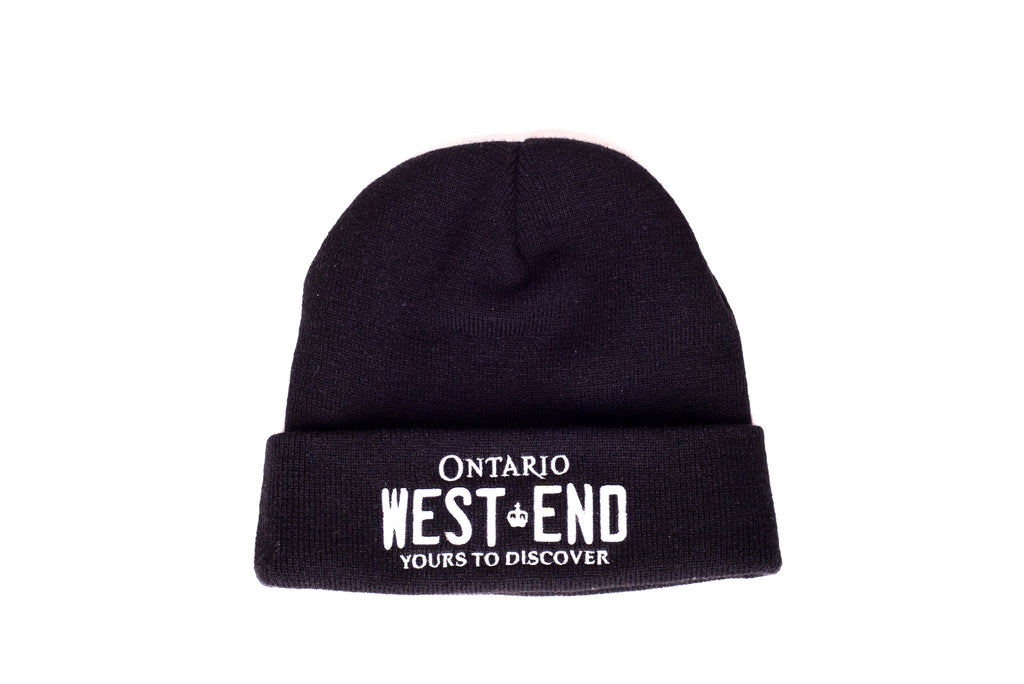 REGISTRATION: West End Beanie [Black/White]