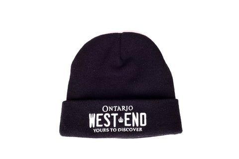 REGISTRATION: WEST END Toque (Black/White)