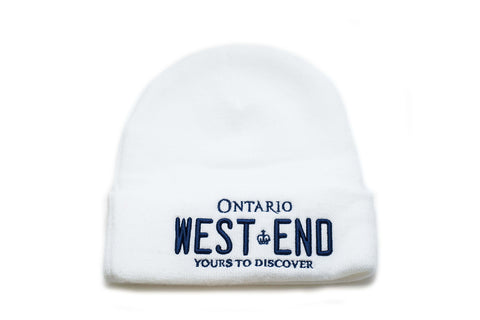 REGISTRATION: West End Beanie [White/Blue]