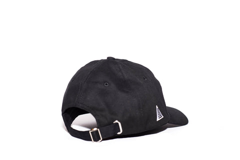 REGISTRATION: East End Strapback Dad Hat [Black/White]