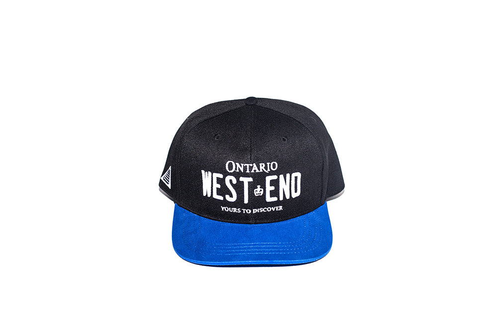 REGISTRATION: West End Snapback [Black/Blue]