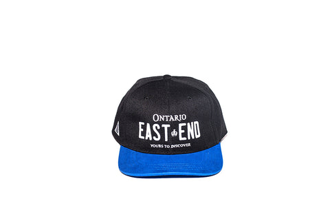 REGISTRATION: East End Snapback [Black/Blue]