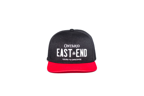 REGISTRATION: East End Snapback [Black/Red]