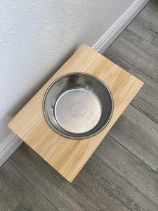 Single Bowl - Raised Dog Bowl Stand