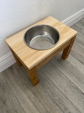 Load image into Gallery viewer, Single Bowl - Raised Dog Bowl Stand