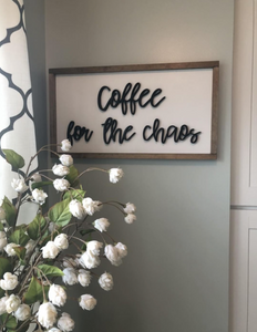 Coffee for the chaos