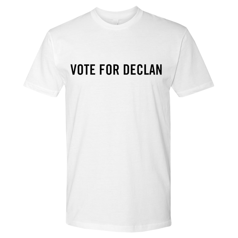 Vote for Declan T-shirt