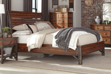 HOLVERSON CAL KING BED