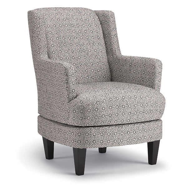 VIOLET SWIVEL ACCENT CHAIR