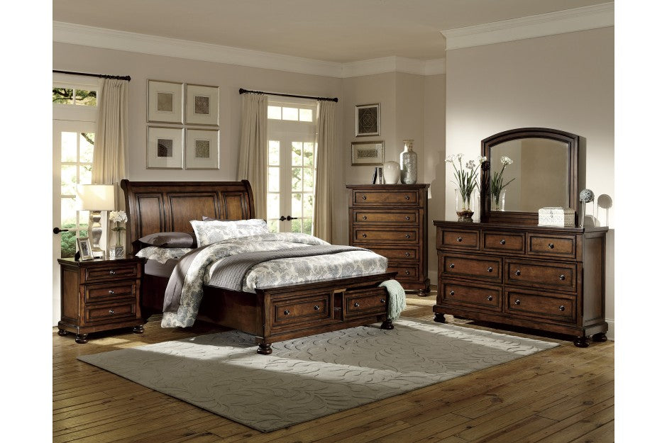 CUMBERLAND 4PC EASTERN KING BEDROOM SET