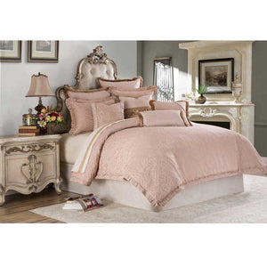 FONTAINE 9PC QUEEN COMFORTER SET QUARTZ