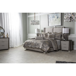 AUBREY 10PC KING COMFORTER SET PATINA