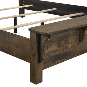 BLUE RIDGE QUEEN BENCH FOOTBOARD